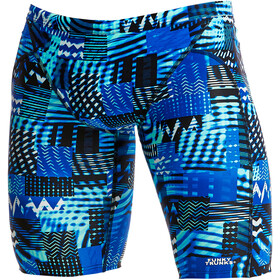 Funky Trunks Training Bañador Jammer Hombre, electric nights